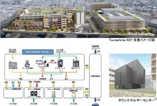 パナソニック、エネルギー管理やスマート商業・住宅を含む横浜綱島スマートタウン構想