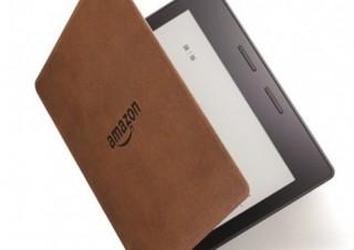 Amazon、20%以上軽く数ヶ月充電不要な電子書籍リーダー「Kindle Oasis」発表