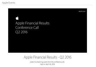 アップルの減収減益は想定内かつ来期も続く