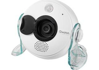 アイ・オー、5つのセンサーを搭載したネットワークカメラ「Qwatch」新モデルを発売