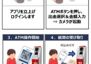 セブン銀行、スマホでATMから引き出せるサービス発表。カードは不要
