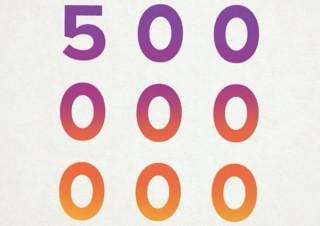 インスタグラムが月間ユーザー5億人突破、Twitterとの差は2億に