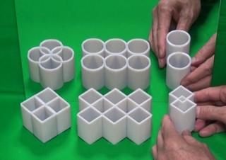 ベスト錯覚コンテスト第2位の変身立体「四角と丸」が何度見てもすごい