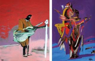 """カフェスペースで小澤雅志氏の作品が紹介される「IDÉE Life in Art #32 """"MUSICAL MOOD""""」"""