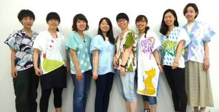 京都造形芸術大学の学生とテキスタイルブランド「SOU・SOU」のコラボ展示販売がスタート