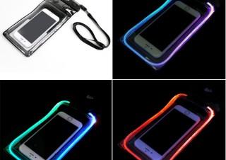 LEDが発光する防水ケース「Fes!」発売、野外音楽フェスに最適
