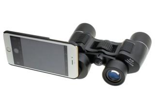 上海問屋、iPhoneを装着してライブビュー撮影できる双眼鏡を発売