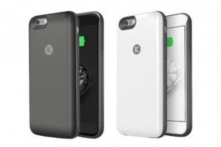 Lightningケーブルで充電可能なiPhone用バッテリー内蔵ケース「KUNER」が発売