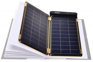 手帳サイズの防水ソーラー充電器「ソーラーペーパー」の取扱開始