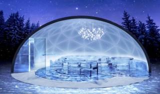 北海道の滞在型リゾート「星野リゾート トマム」にドーム型の氷のホテルや氷の露天風呂が登場