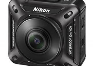 ニコンが初のアクションカメラ3機種を発表!迫力あるVR映像の撮影も可能に