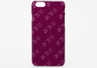 好きな言葉でオーダーできるiPhone7ケースが発売、江戸文字から生まれた「真四角書体」を使用