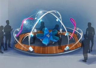 ヤマハとヤマハ発動機がコンセプトモデルなどを展示する合同デザインイベントを開催