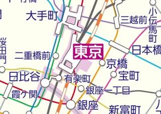 駅すぱあと、全国の路線図をシームレスに閲覧可能に。路線図タップで経路検索も可能