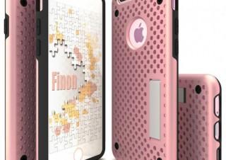 Finon、放熱にこだわったiPhone7用の穴空きケースを発売