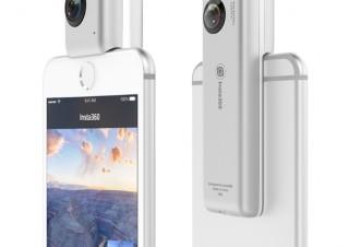 アスク、iPhoneで全天球写真・動画を撮れるビデオカメラ「Insta360 Nano」を発売