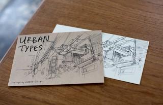 イラストレーターMariya Suzuki氏のタイポグラフィをモチーフとした作品展示「URBAN TYPES」