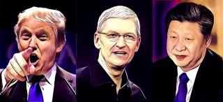 トランプ政権と中国政府の板挟みにあうアップル
