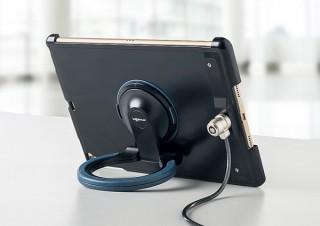 サンワ、iPadの盗難を防止するセキュリティ機能付きスタンドケースを発売