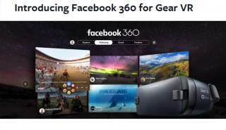 FB、ヘッドマウントディスプレイ「GEAR VR」専用のVRアプリ「Facebook 360」公開
