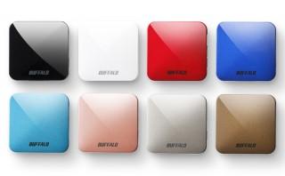 バッファロー、11ac対応トラベルルーターの新色6製品を発売