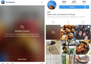 Instagramが「ぼかし」機能を搭載、通報があった「センシティブ」な投稿が対象