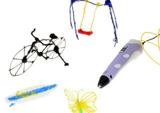 上海問屋、空中に立体的な絵を描けるペン型3Dプリンタを発売