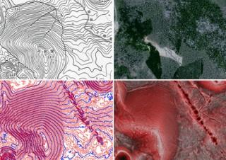 古墳調査や登山用マップに使える「赤色立体地図」の無料ダウンロード開始