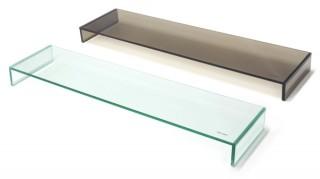 アーキサイト、ディスプレイを2台設置できる強化ガラス製ロングスタンドを発売