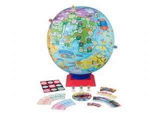史上初!地球が舞台の球体すごろく発売。世界100カ国をマスにして賞金稼ぎ
