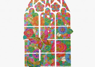 色鮮やかなボールペンイラストを描く藤原かおる氏の初個展「不思議の庭と、花と恋と。」