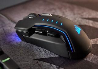 リンクス、解像度が最大16000dpiのCORSAIR製ゲーミングマウス「GLAIVE RGB」を発売