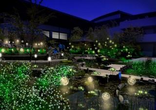 ホタルをテーマにイルミネーション演出や体験プログラムも展開される京都水族館のイベント「ほたるの夜」