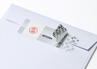サンワサプライ、USBメモリの不正使用防止にも使える「なりすまし防止セキュリティシール」を発売
