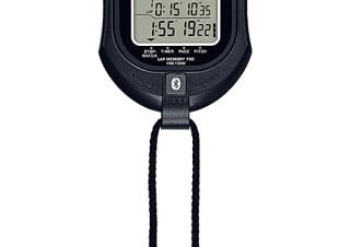 カシオ、計測したタイムをiPhoneに転送できるBluetooth搭載ストップウォッチを発売