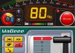 スマホでミニ四駆や電車のスピード調節可能な乾電池型 IoT「MaBeee」が新アプリをリリース