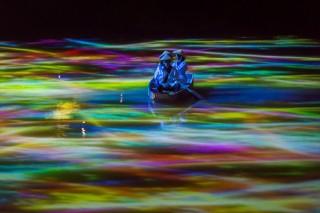 チームラボが御船山楽園をインタラクティブなデジタルアートで彩る「かみさまがすまう森のアート展」