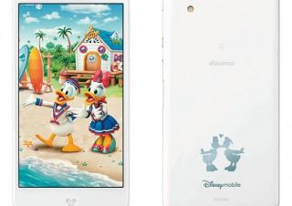 ドコモ、「Disney Mobile on docomo DM-01J」の新色ホワイトを発売