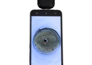 上海問屋、USB Type-C搭載のAndroidスマホで手軽に使える360°カメラを発売