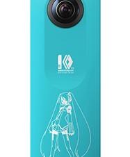 リコー、360度カメラ「RICOH THETA SC」初音ミクとのコラボモデルを発売