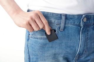 ソニー、正方形デザインで遠隔操作も可能な小型ICレコーダー「ICD-TX800」を発売