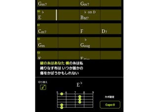 ヤマハ「mysoundプレーヤー」、音声信号解析でどんな曲でもコードが見られる機能を実装