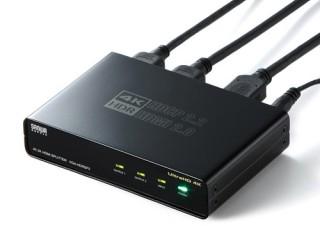 サンワサプライ、4K/60Hz対応のHDMI分配器2モデルを発売
