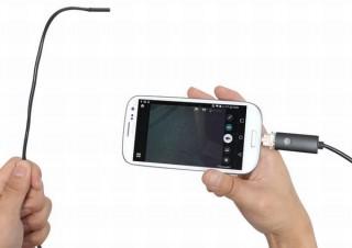 サンコー、Android/PC両対応の内視鏡ケーブル3タイプ発売。3980円~