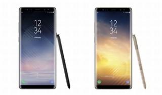 au、Sペン付属で4096段階の筆圧感知機能を持つファブレット「Galaxy Note8」発売