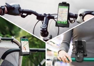 ニアバイダイレクトジャパンより、360度自在に回転する自転車用スマホホルダー「VA-SH025」発売