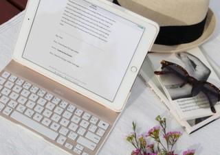 ベルキン、高耐久性と軽さを誇りiPad第5世代とiPad Air対応の「キーボードケース」新発売