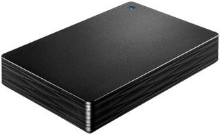 アイ・オー、小型ながら容量4TBのポータブルHDD「HDPH-UT4DK」を発売