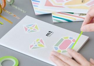 人気のマスキングテープ「mt」柄の9種のデザインのフォトブックをTOLOTが期間限定で販売中