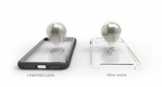 コペックジャパン、通常の2倍の強度を誇るゴリラガラスを採用したiPhoneケース「LINKASE CLEAR」発売